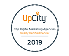 Upcity Digital Marketing Agency Badge